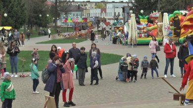 Первого мая в Лиде начал работу городской парк культуры и отдыха