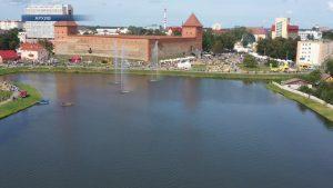 В этом году в Лиде немного смещен график работы городских фонтанов