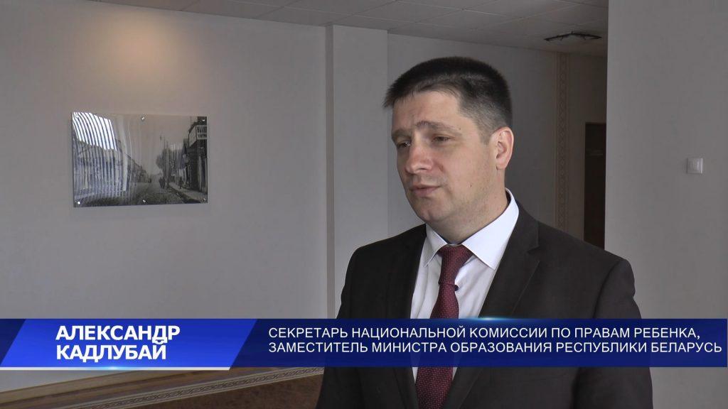 Александр Кадлубай посетил загородные лагеря «Солнышко» и «Спутник»