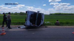 В Лидском районе в ДТП пострадал пассажир