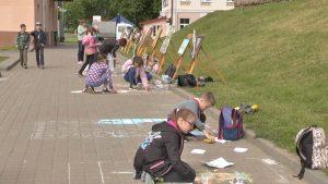 В Лиде открылся фестиваль-конкурс детского творчества «Арт-территория»