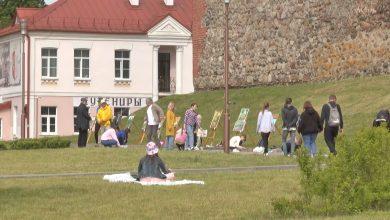 Лидские юные художники приняли участие в конкурсе детского творчества «Арт-территория»