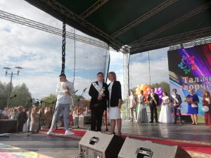 Районный праздник чествования выпускников проходит в Лиде