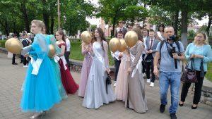 Районный праздник чествования выпускников проходит в Лиде.